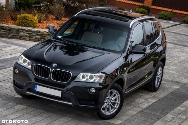 BMW X3 Drive 2,0 180 Km Skóra automat ubezpieczona