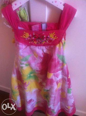 Vestido corte ingles T 6 anos