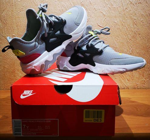 Nowe oryginalne buty Nike React Presto