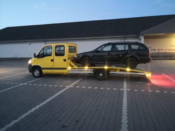 Pomoc drogowa autoholowanie autolaweta autonaprawa transport