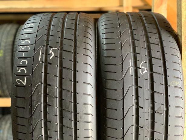 Шини літо 255/35R19 Pirelli PZero 2шт 5,5мм 15,16рік