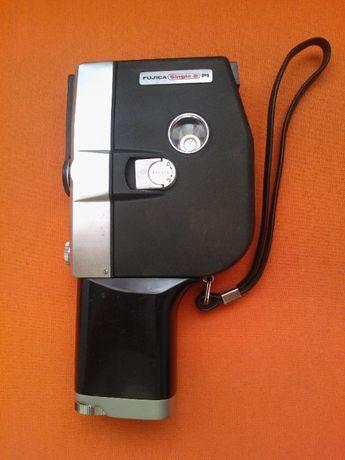 Máquina de filmar Fuji Optical, Fujica Single 8 P 1 de 1965, c/ bolsa