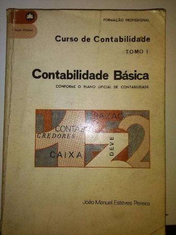 Livro Antigo Contabilidade Basica