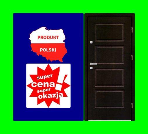 Drzwi wejściowe zewnętrzne do mieszkania Z MONTAŻEM. antywłamaniowe