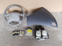 komplet air bag zestaw poduszek kierownica czujnik MITSUBISHI GRANDIS