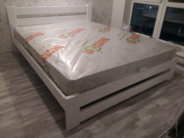 Продам дерев'яне двоспальне ліжко, кровать розміром 160х200