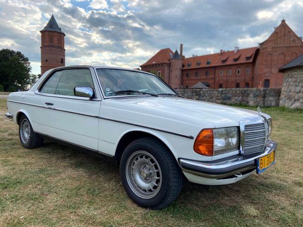 Samochód do ślubu – Mercedes W123C - Piękny klasyk – Auto do ślubu