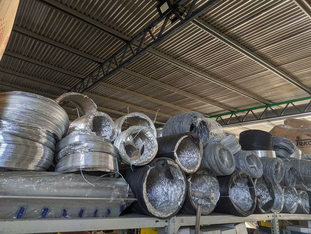 Tubo flexível isolante alumínio