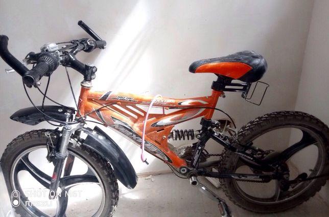 Велосипед на литых дисках + замок в подарок
