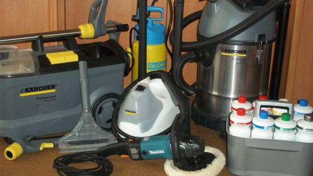 Прибирання квартир, приміщень, хімчистка меблів, ковроліну, миття віко