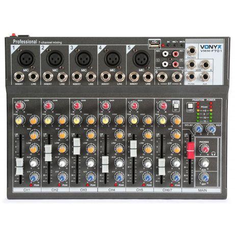 Mikser 7 kanałowy Vonyx VMM-F701 Sklep Wągrowiec