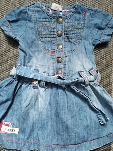 Sukieneczka dżinsowa Next 80