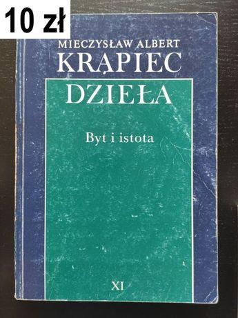 Krąpiec, M. A, Byt i istota