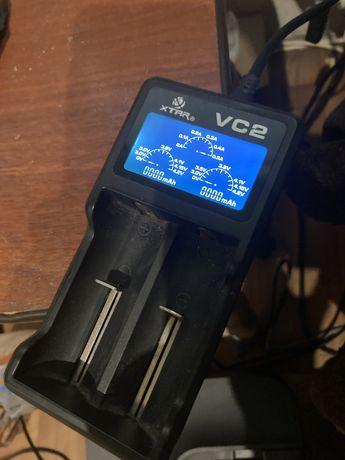 Зарядка для аккумуляторов 18650 xtar vc2