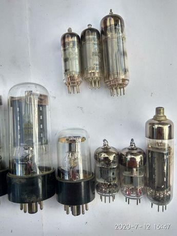 Электронная лампа 2п1п, 6к4п,