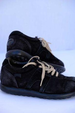 Ténis Camper pretos em tecido