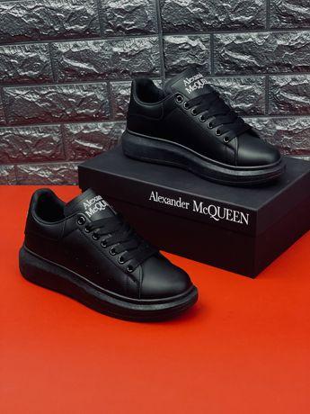 Все Размеры 35-45 кожаные кроссовки Александер Маккуин Alexander McQue