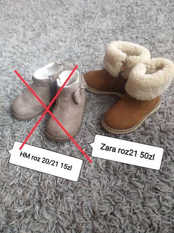 Buty jesienne i zimowe dla dziewczynki