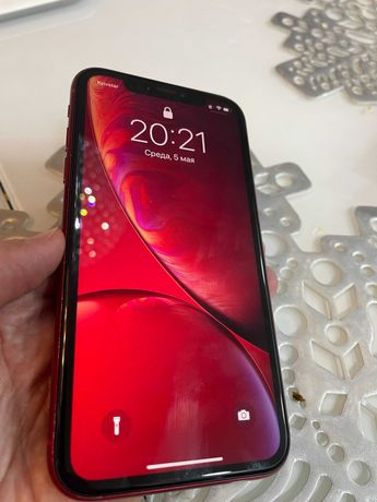 iPhone XR 128 Gb, Dual sim, red. Официальный, свой