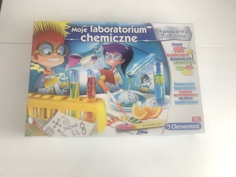 Moje laboratorium chemiczne zabawki