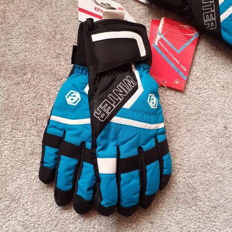 Nowe rękawiczki narciarskie xxl
