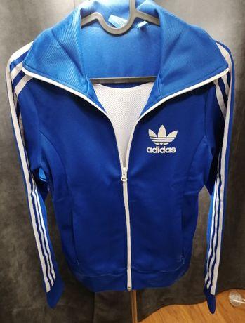 Bluza Adidas rozm XS niebieska