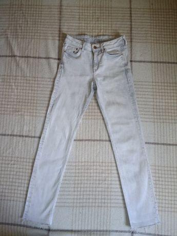 Белые джинсы с высокой талией, мом  mom