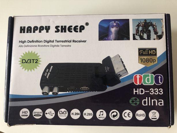 HAPPY SHEEP odbiornik naziemny DVB-T2 HD333