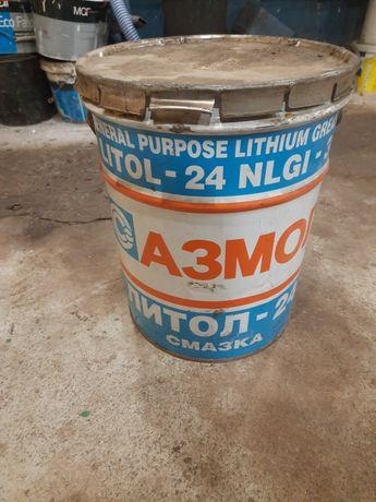 Литол 24 15 кг смазка в фирменном ведре