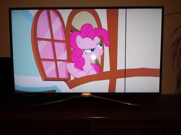 SMART TV samsung uszkodzona matryca kreska 49 cali