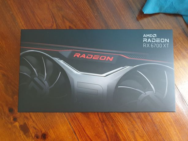 AMD RX 6700 XT Placa gráfica selada!