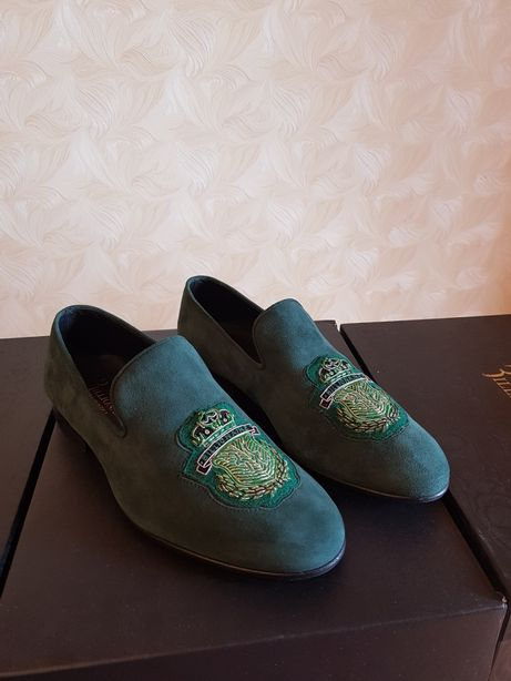 Туфли мокасины billionaire оригинал brioni zilli gucci dolce Gabbana
