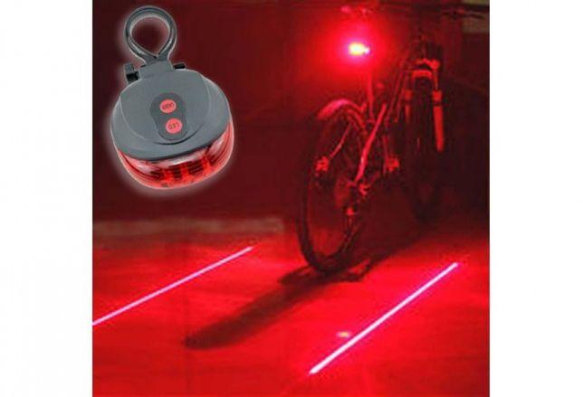 Laserowe Tylne Światło Rowerowe