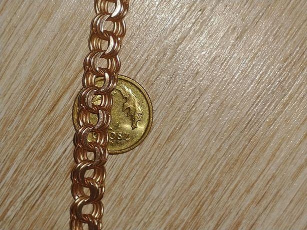 Złoty łańcuszek Garibaldi