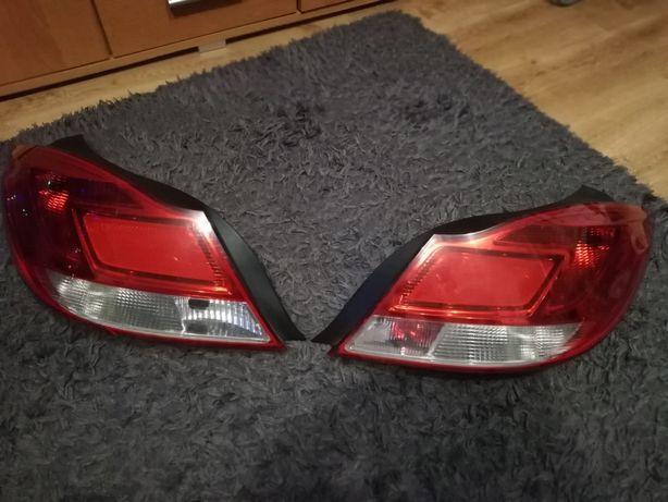 Lampy tył Opel insignia UK