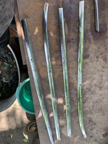 Хром люкс газ 21 волга, стрелы хром, боковой хром, олень, ручки
