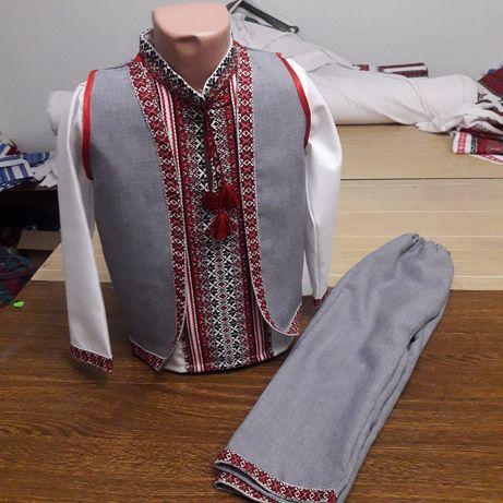 Вишиванка, жилетка , штани для хлопчиків