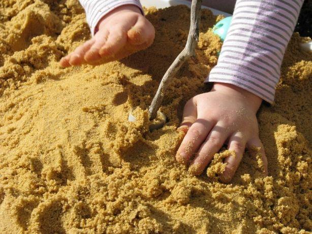 Piasek do piaskownicy z atestami 25 kg dla dzieci - wysyłka gratis