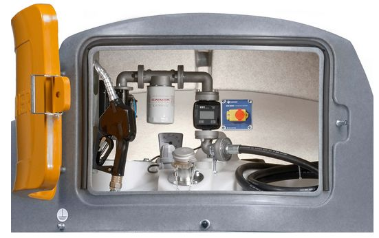 Zbiornik dwupłaszczowy do paliwa SWIMER 2500L paliwo ON