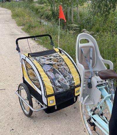 Atrelado bicicleta