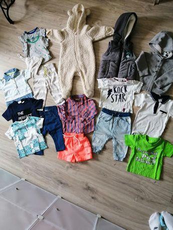 Mega paka ubranek dla chłopca jeans tshirt itp 6-9 msc roz 74 ZARA HM