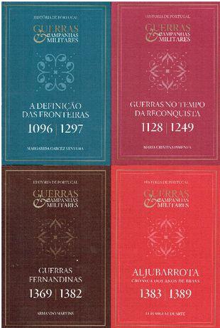 7621 - Coleção Guerras E Campanhas Militares da Historia de Portugal