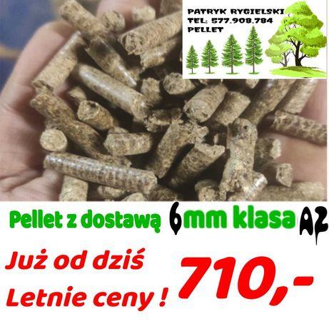 Dobra Oferta!! Pelet/Pellet drzewny klasa A2.  Cena z dostawą/opał