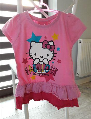 Bluzka dziewczęca Hello Kitty rozmiar 116/122