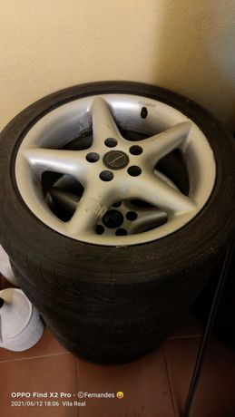 Jantes com pneus 195/50R15