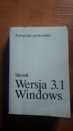 Microsoft Wersja 3.1 Windows podręcznik użytkownika