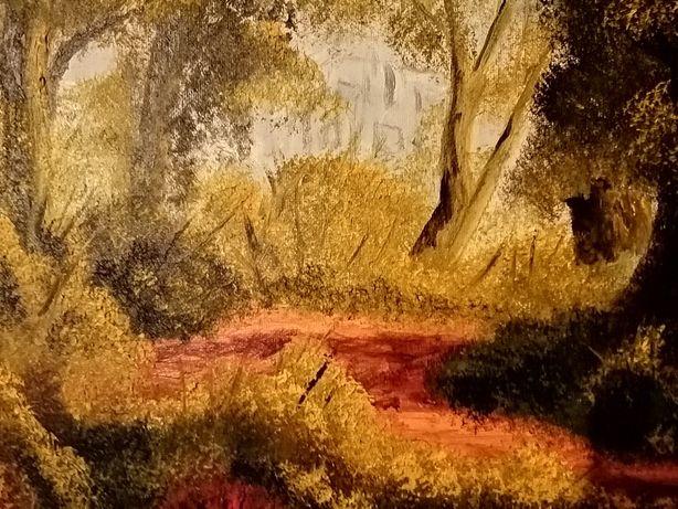 Obraz olejny na płótnie wym 70 /50 malarstwa T. Chołyka