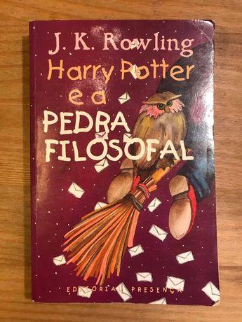 Harry Potter e a Pedra filosofal - J. K. Rowling (portes grátis)