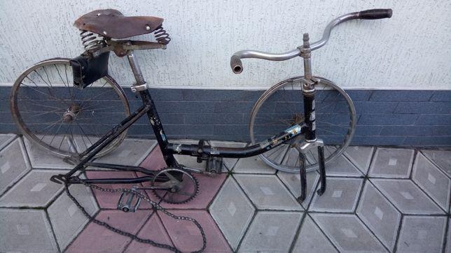 Велосипед подрастковый Десна складной времен СССР