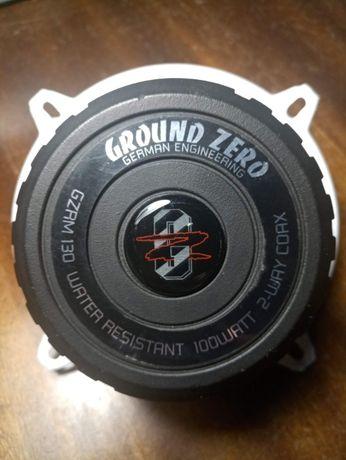 Ground Zero GZRM 130 Влагостойкие динамики, идеальное состояние.